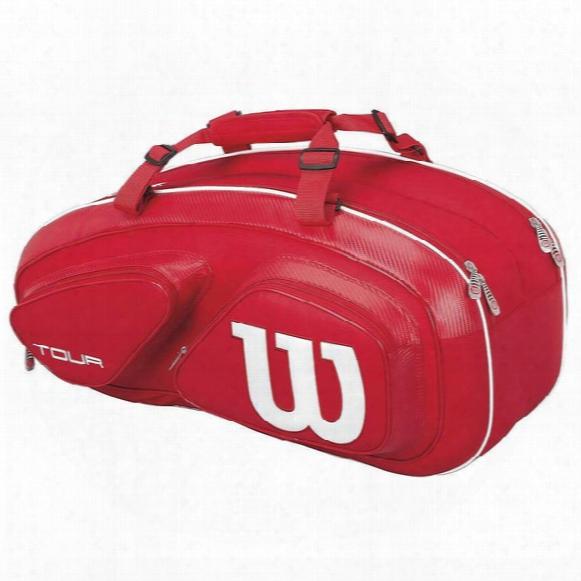 Tour V Red 6 Pack Tennis Bag