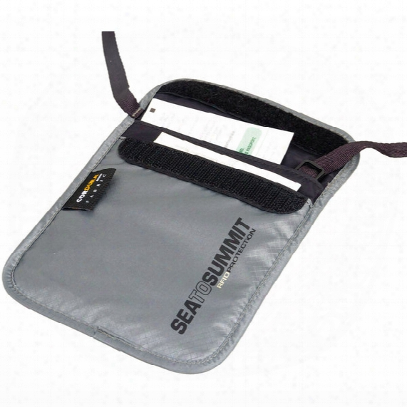 Travelling Light Neck Pouch Rfid - Large