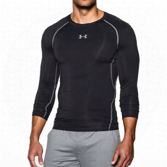 Under Armour Heatgear Armour Compression Long Sleeve Top - Mens