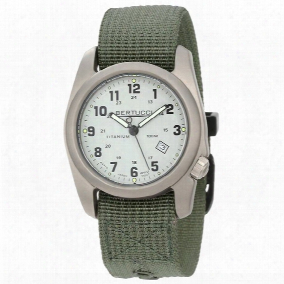 A-2t Original Classic Titanium Analog Field Watch