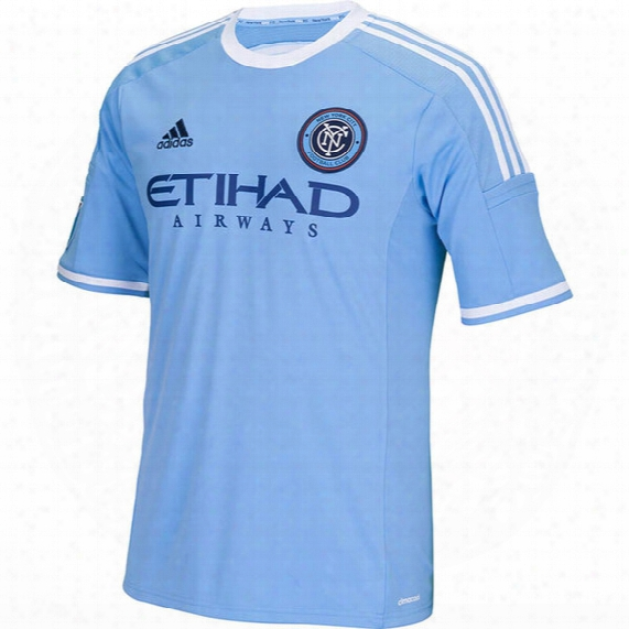 Adidas New York City Fc Home Replica Jersey - Mens