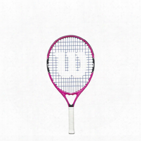 Burn Pink 21 Tennis Racket- Strung With Cover