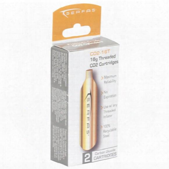 Co2-16t 16 Gram Co2 Threaded Cartridge