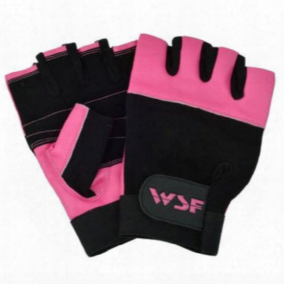 Exercise And Lifting Gloves - Pink