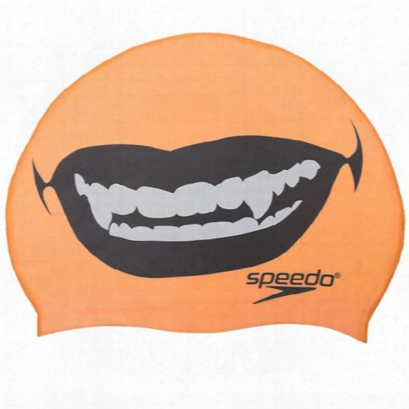 Fang Thang Silicone Swim Cap