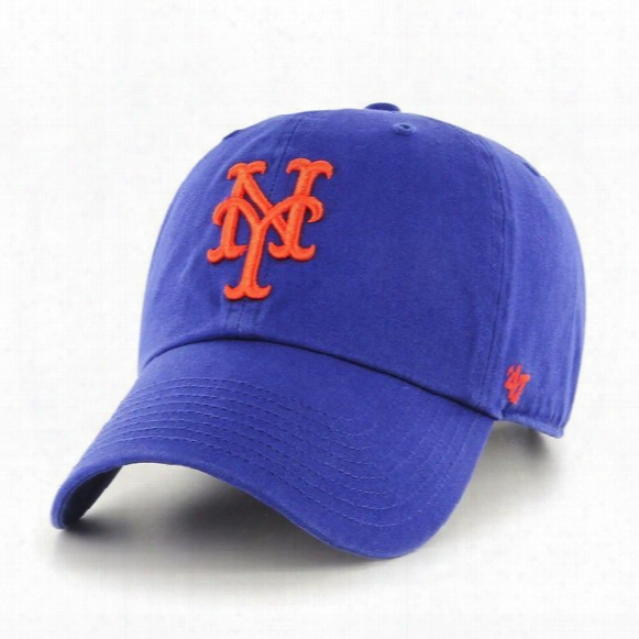 Mlb New York Mets Clean Up Adjustable Hat