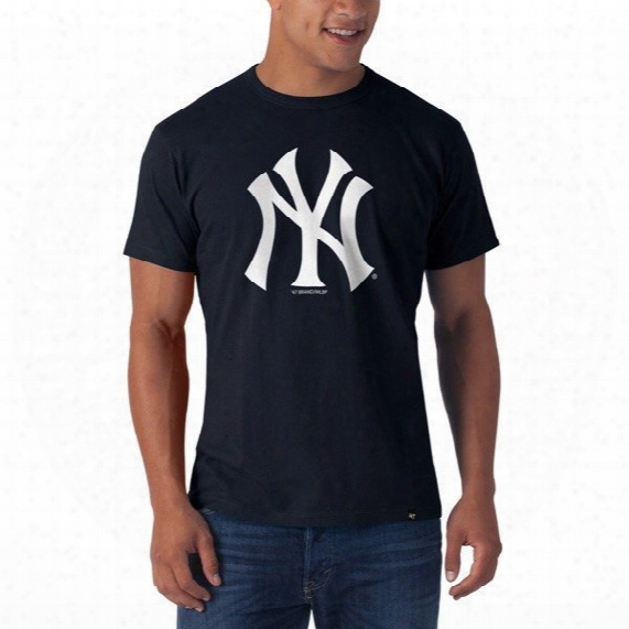 Mlb New York Yankees Frozen Rope Slim Tee - Mens