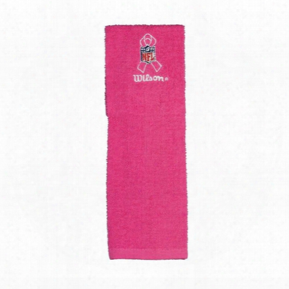 Nfl Breast Cancer Awareness Field Towel