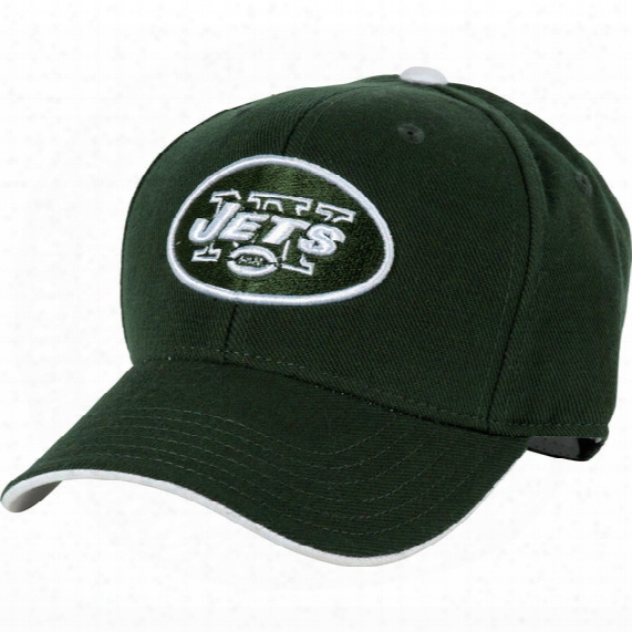 Nfl New York Jets Basic Structured Hat - Youth