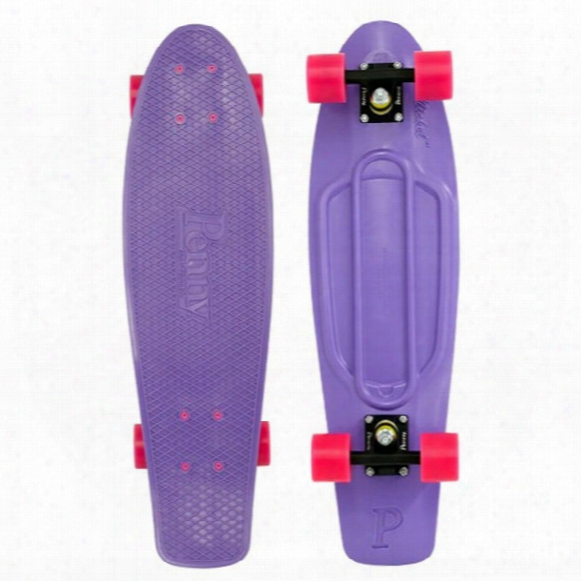 Penny Nickel Purple Pink Skateboard Complete - 27