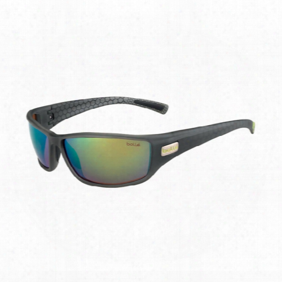 Python Polarized Sunglasses � Polarized Brown Emerald Oleo Af Lens
