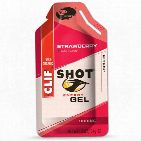 Strawberry Gel With Caffeine