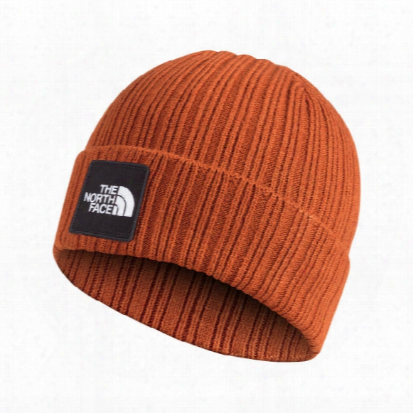 Tnf Logo Boxed Cuffed Beanie