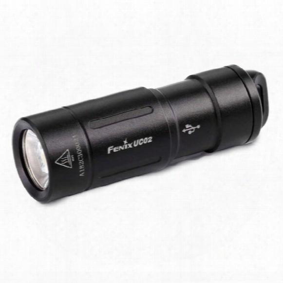 Uc02 Rechargeable Keychain Flashlight � 130 Lumens