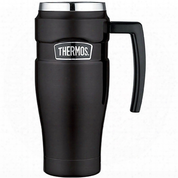 Vacuum Insulated Travel Mug - 16 Oz