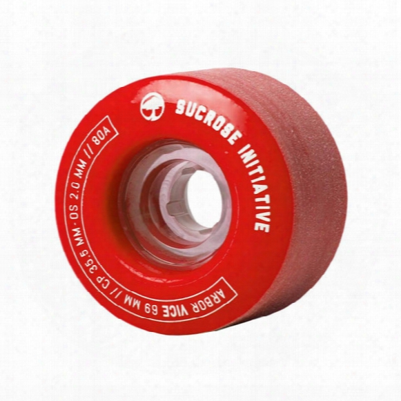 Vice 69mm/80a Skateboard Wheel Set (4)