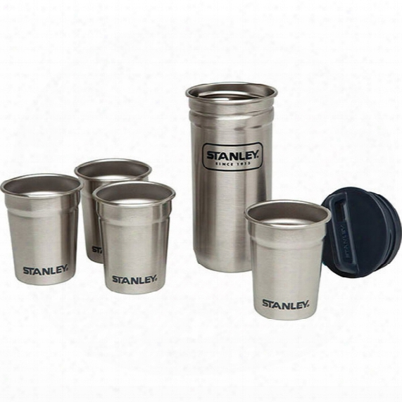 Adventure Stainless Steel Shot Glass Set - 2 Oz