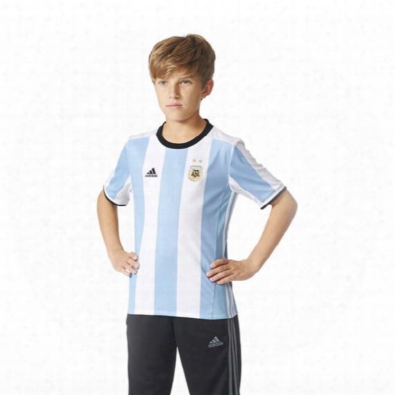 Argentina Home Replica Jersey - Kids