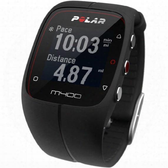 M400 Gps Watch - Black
