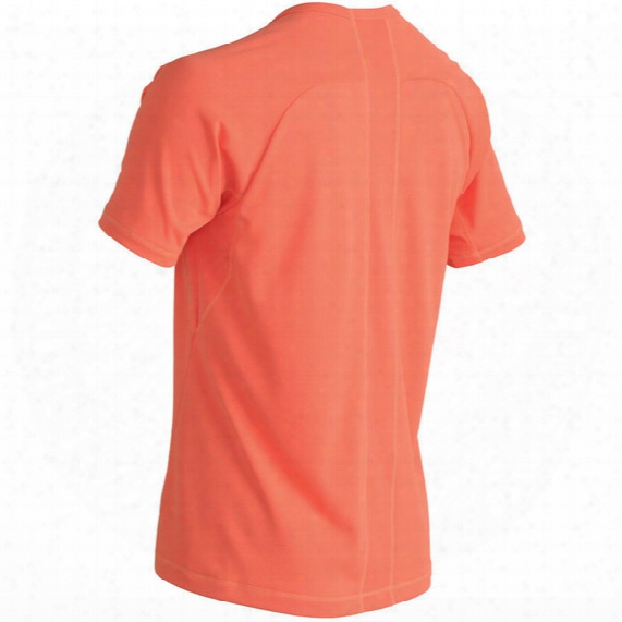 Short-sleeve Ventilator Mesh Top - Mens