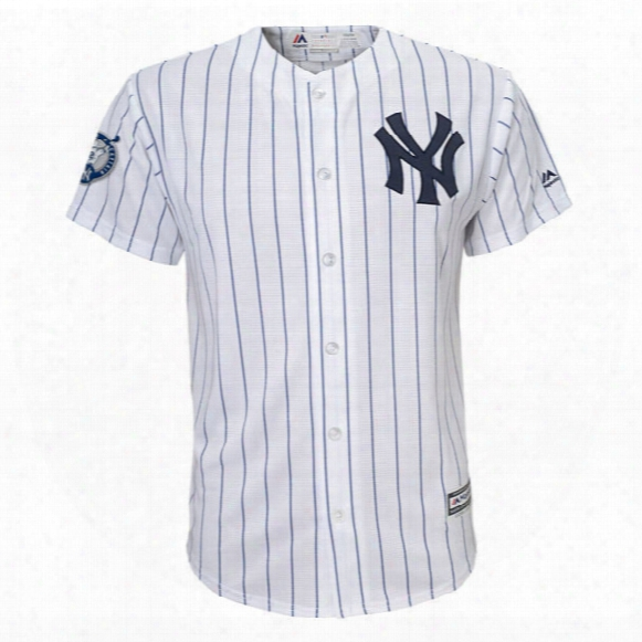 Yankees Home Number Retirement Day Cool Base Jersey - Youth