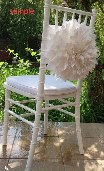 2015 Ivory Big 3d Flowers Chair Sashes Chair Covers Sample Link 09