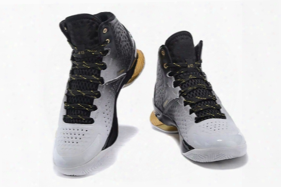 2016 2017 Curry Back To Back Pack Curry 1 2 Mvp Basketball Shoes Men Stephen Curry Shoes Black Gold Currys Shoes 7-12