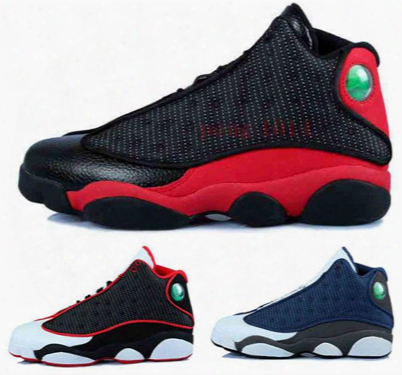 2016 Air Retro 13 Xiii Man Basketball Shoes Red Bred He Got Game Black Sneaker Sport Shoes Online Sale Size 8-13