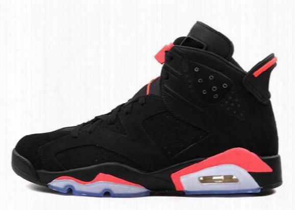 2016 New Basketball Shoes,trainers Shoes Sneakers Boots,infrared Retro 6 Shoe,gs Valentine's Day Shoe,black Infrared Shoe