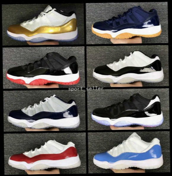 2017 Air Retro 11 Xi Low Mens Women Basketball Shoes Bred Concord Infrared 23 Georgetown Varsity Red Citrus Orange Sports 11s Sneakers 36-47