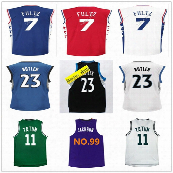 2017 Draft Pick Basketball #7 Markelle Fultz Jersey Cheap Lonzo Ball #11 Jayson Tatum #99 Josh Jackson Jersey New Arrival #23 Jimmy Butler