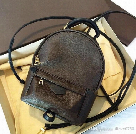 2017 Free Shipping! Real Genuine Leather Fashionback Pack Shoulder Bag Handbag Presbyopic Mini Packag Emessenger Bag Mobile Phonen Purse.