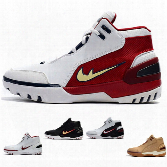 2017 Limited Retro Zoom Lbj1 Generation First Game For High Quality Youth James 1 Fashion Sports Basketball Shoes Size 7-12