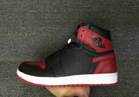 2017 Men Mesh Air Retro 1 Royal High Og Banned Black Bred Red Basketball Shoes Toe Top Three Mandarin Duck 1s Athpetic Sneakers