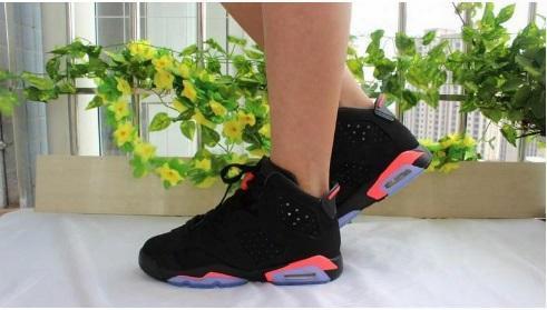 2017 Retro 6 Black White Infrared Low Chrome Oreo Wholesale Price Basketball Shoes Sneakers 2016 Men Women Us Size 5.5-13