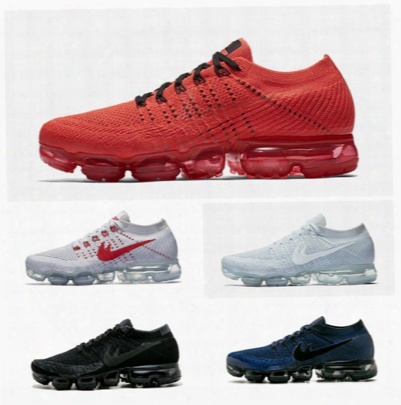 2017 Vapormax Mens Shock Running Shoes 2018 Walking Sproting Basketball Shoes For Men Women Sneakers Trainers O.m.f Eur 36-45