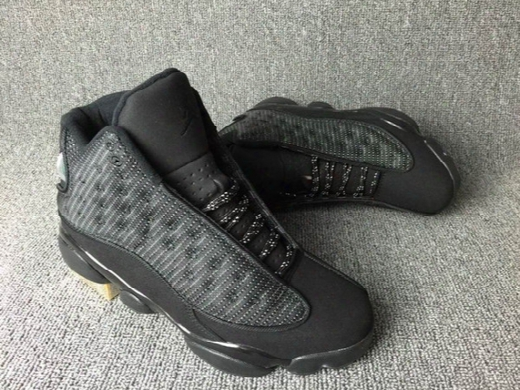 2017 With Box Retro 13 Og Black Cat Basketball Shoes 3m Reflect For Men Sports Training Sneakers High Quality