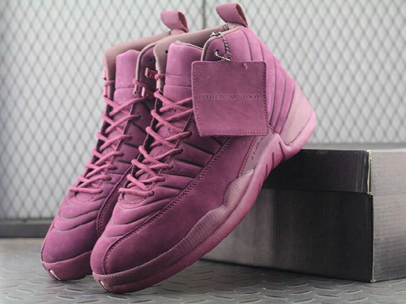Air Retro 12 Xii Basketbal Shoes Mens Sneakers Bordeaux Olive Wheat Purple Green With Box Free Shipping