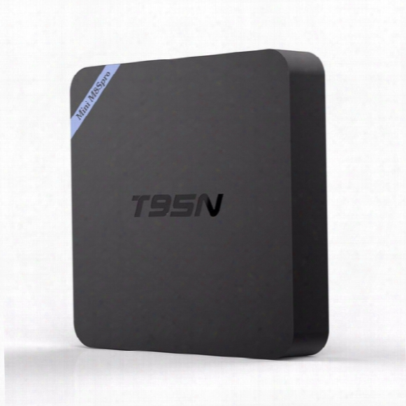 Amlogic S905x 2gb 8gb Android Smart Tv Box T95n Mini M8s Pro 4k Video Streaming Media Player Support 3d Blu-ray