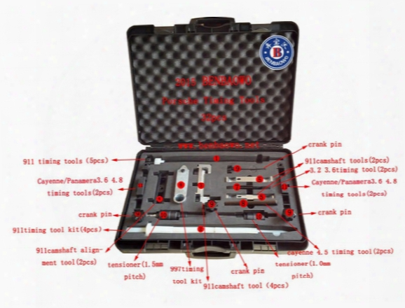 Benbaowo Tools For Porsche Cayenne Panamela 911 996 997 986 987 3.6l 4.5l 4.8lt Iming Camshaft Alignment Tool