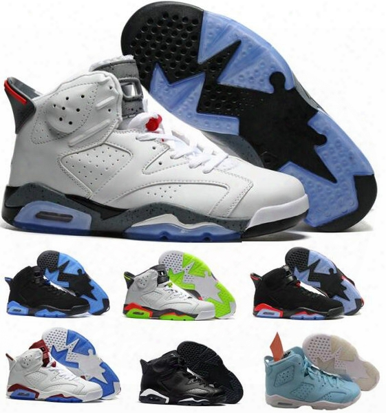 Best Retro 6 Vi Basketball Shoes Women Men's Retros J6s Vi Real Replicas Man Retro Shoes Hombre Basket Sneakers