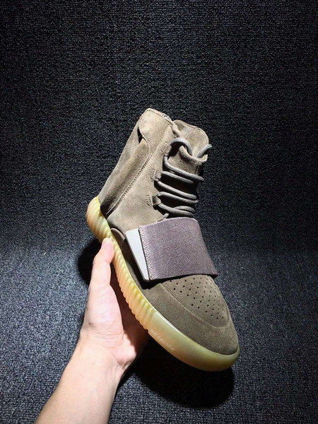 Boost 750 Kanye West Shoes Brown Outdoors Sneaker Sneakeheads Shoe Basketball Shoes Sneakers Cheap 750 Boost Men Sports Casual Boosts