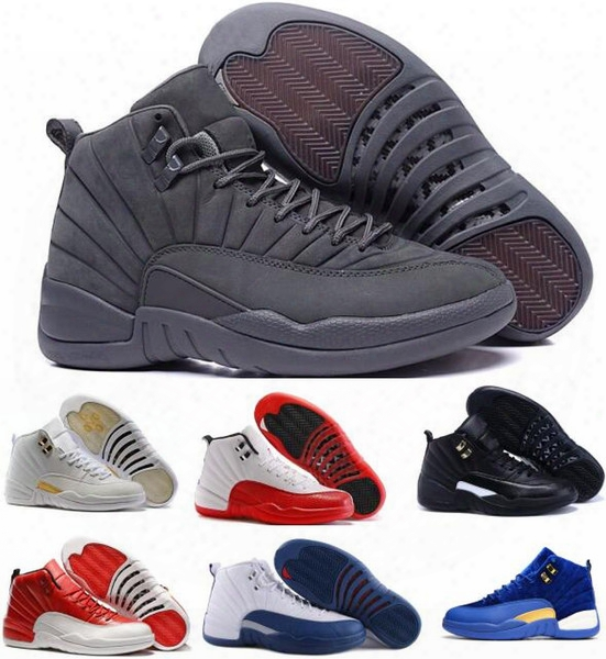 Cheap Retro 12 Basketball Shoes Men Women Gs French Blue Masters Authentic Ovo Replicas Retros 12s Zapatillas Sports Taxi Playoffs Sneakers