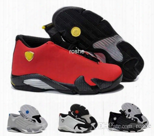 Classical Top Quality Retro 14 Xiv Basketball Shoes For Men, Fusion Purple Black Red 14 Playoffs Sneakers Eur41-47 Us8-13