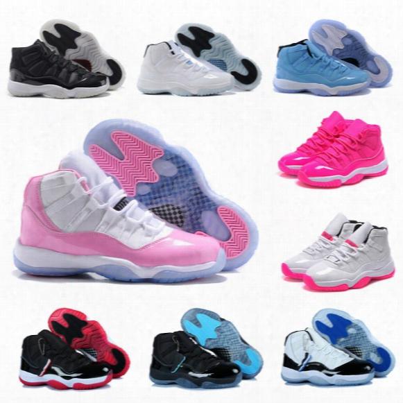High Quality Original Sports Shoes Men Women Retro 11 Basketball Shoes Online Sale Us Size 5.5-13 Free Shipping