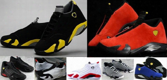High Quality Retro 14 14s Men Basketball Shoes Sneakers Mens Authentic Retro Shoes 14s Basketball Shoes Outdoor Training Shoes 4-5-6-7-11-12