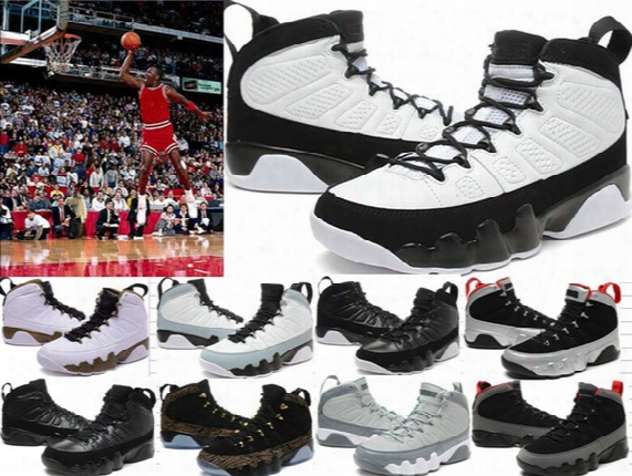 High Quality Retro 9 Ix 9s Basketball Shoes Mens 9s Copper Statue Anthracite Baron Charcoal Johnny Kilroy 9 Ix 9s Sneakers Sports Shoes 5-11