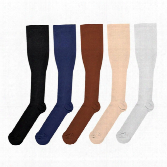 Hot Miracle Anti Fatigue Compression Socks 6 Colors Women Men Anti-fatigue Magic Leg Warmers Slimming Socks Sport Basketball Socks