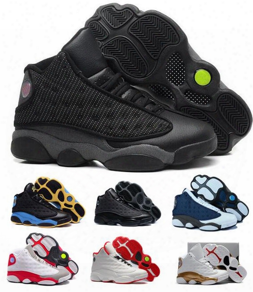 Hot Retro 13 Basketball Shoes Dmp Men Women Cool Grey Air Retros 13s Xiii Low Men's Women's Sport Femme Real Athletic Shoes Sneakers