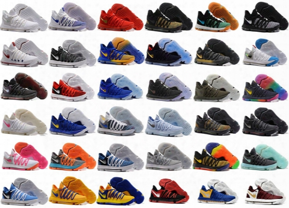 Kd 10 Oreo Still Kd Naniversary Black Green Basketball Shoes Sneakers Kd10 Men Shoes Sport Kevin Durant 10 Trainers 8-13